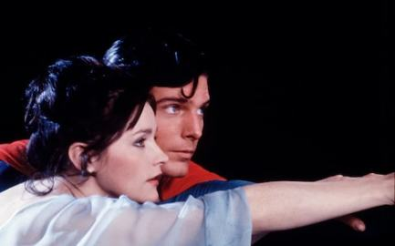 Margot Kidder and Christopher Reeve